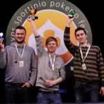 Pirmasis sportinio pokerio turnyro Lietuvoje čempionas – Viktoras Vainutis.