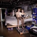 Tamsioji Las Vegaso pusė: žmonės, gyvenantys tuneliuose po žeme (Foto)