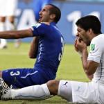 167 žmonės lažinosi, kad Luisas Suarezas kandžiosis Pasaulio čempionate