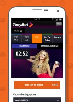 """""""TonyBet"""" pristatė mobiliąsias """"Android"""" ir """"iOS"""" lažybų aplikacijas"""